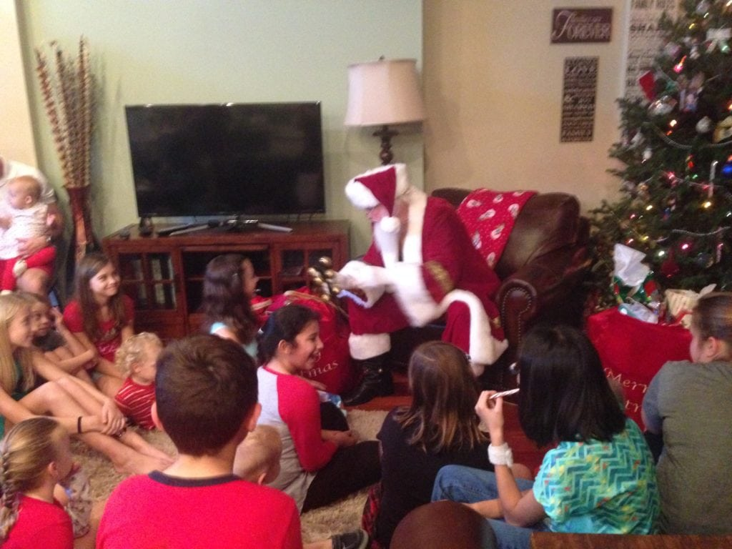 Santa in Tampa Bay