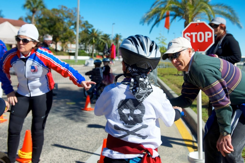 Gasparilla-childrens-parade-bicycle-rodeo
