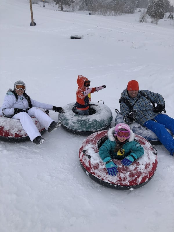 Park City Utah ski trip for families