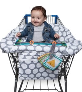 Baby Registry Must-Haves Boppy Shopping Cart Cover