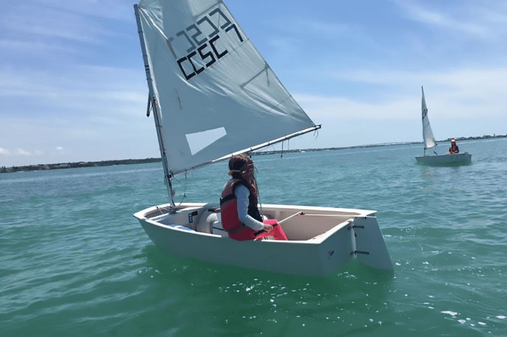 Clearwater Community Sailing Center's Summer camp