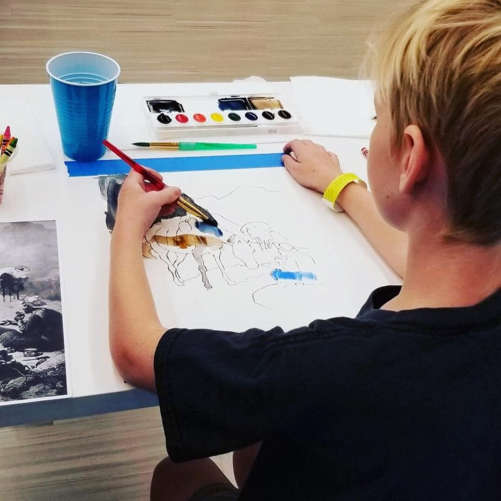 Art Camp 2019 at The James Museum