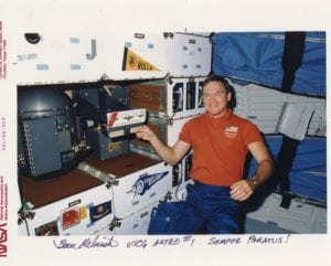 Bruce Melnick astronaut and Clearwater High graduate