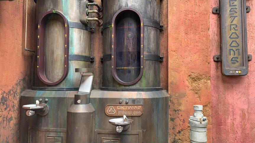 Star Wars Galaxy's Edge Dianoga