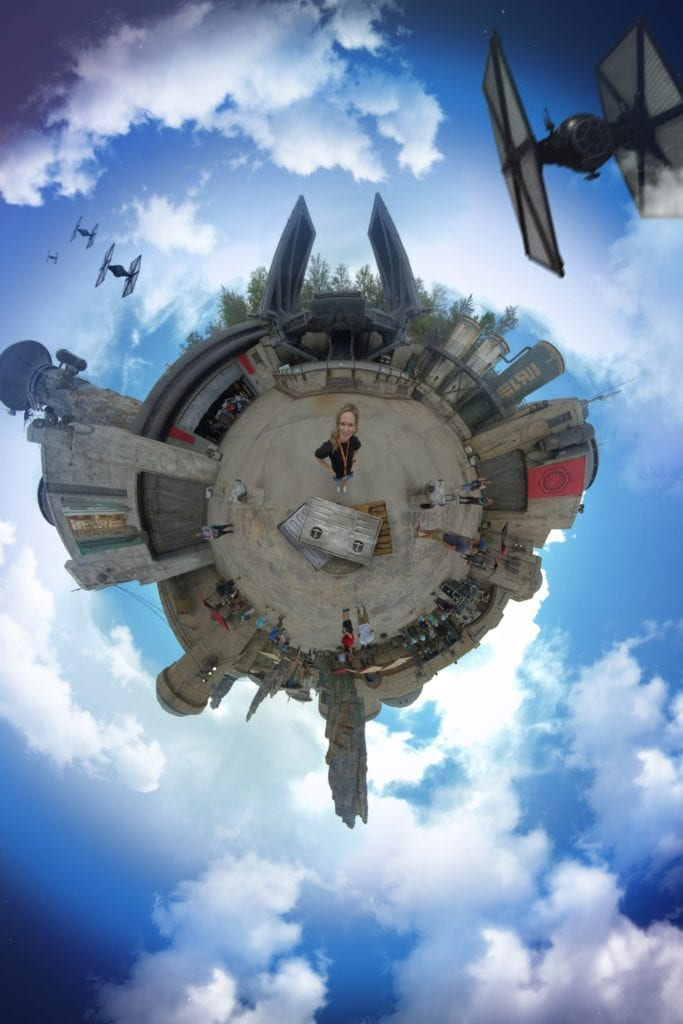 Tiny World Star Wars Galaxy's Edge