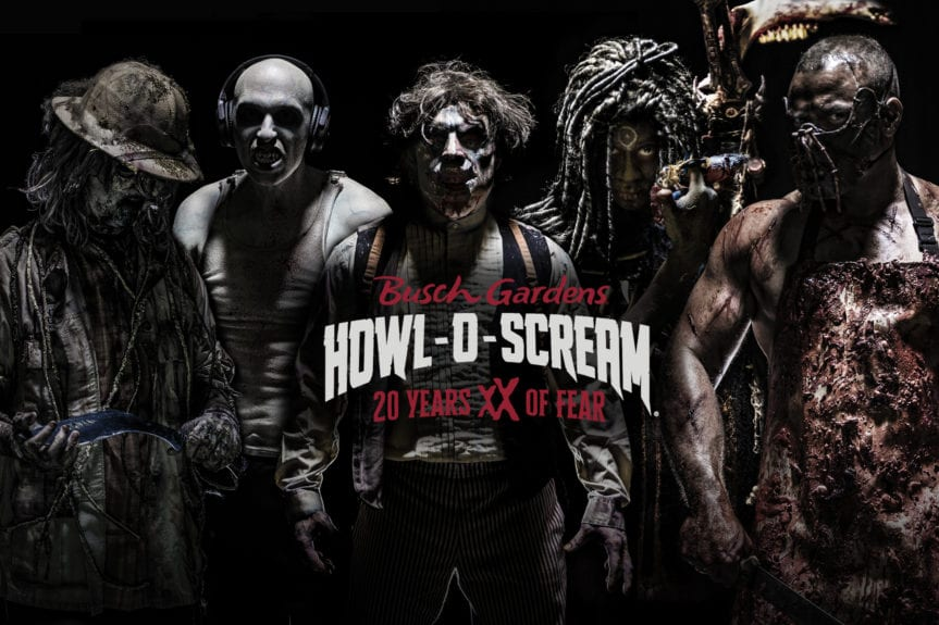 Howl-O-Scream is Back this September-November! - Tampa Bay