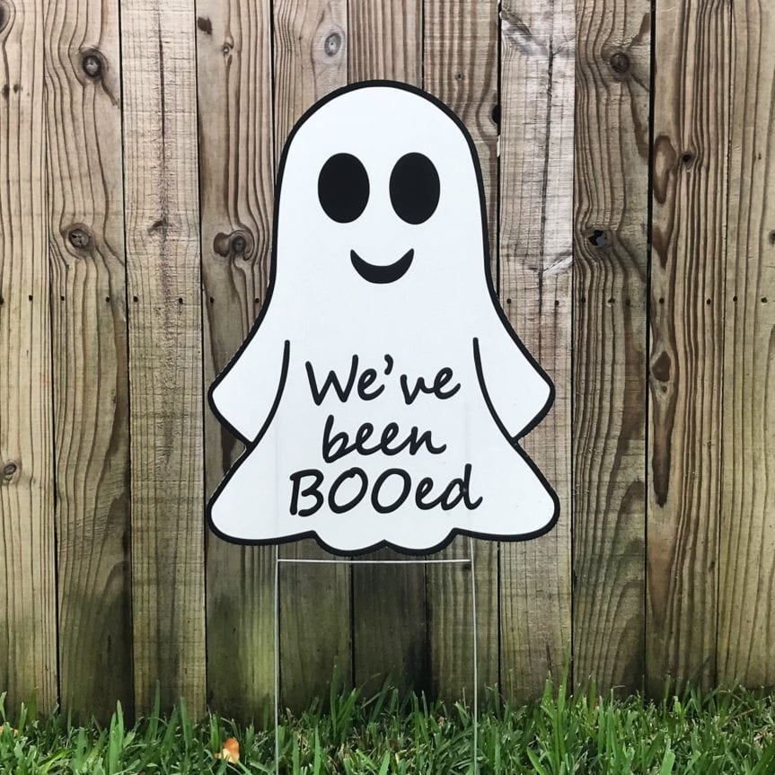 Tampa Yard Signs Ghost