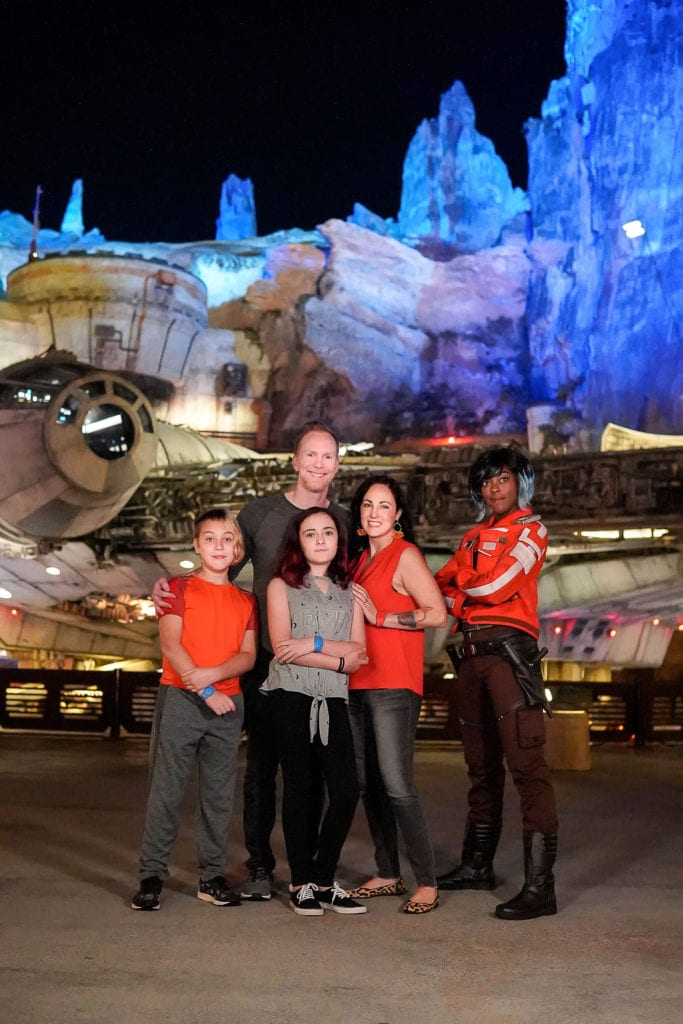 Star War's Galaxy's Edge Vi Moradi