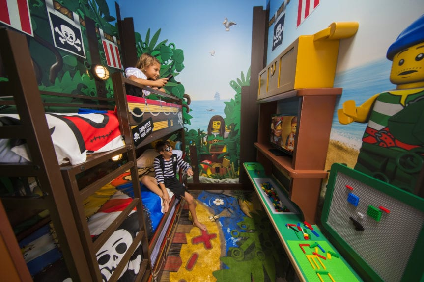 New in 2020 LEGOland Florida Pirate Hotel