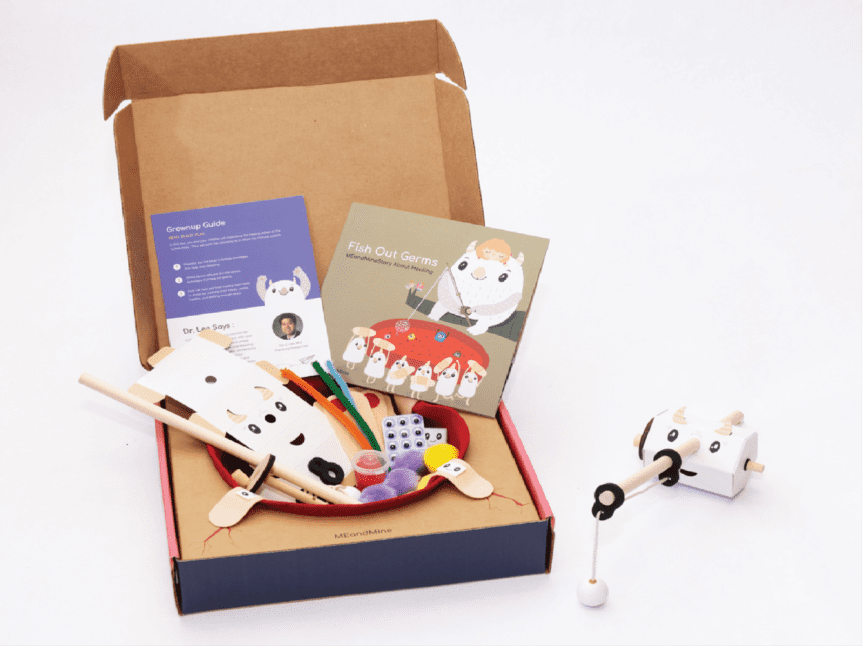 meandmine subscription box for kids