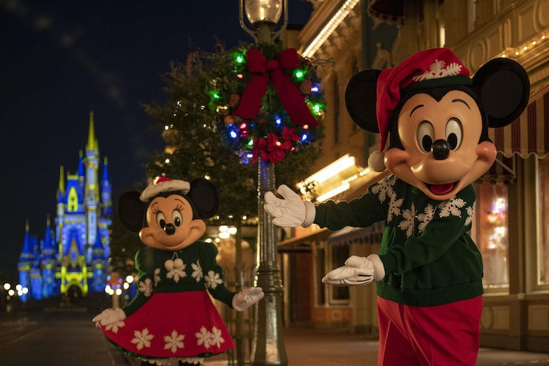 best Christmas events for families magic kingdom