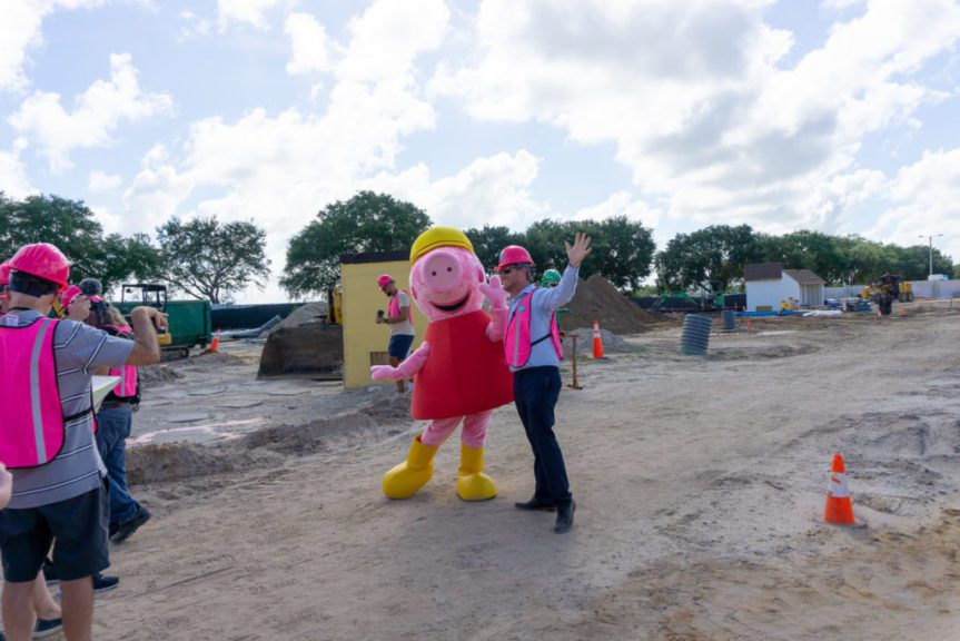Peppa Pig Theme Park at LEGOLAND Florida First Look with Peppa