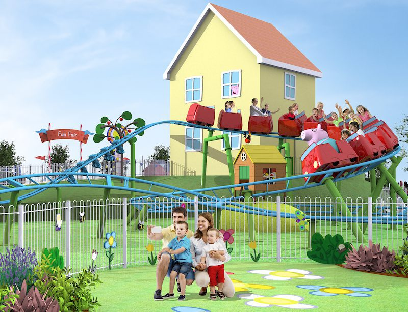 Daddy Pig's Roller Coaster Peppa Pig Theme Park